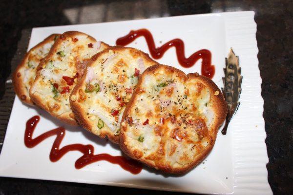 Garlic Bread Spicy