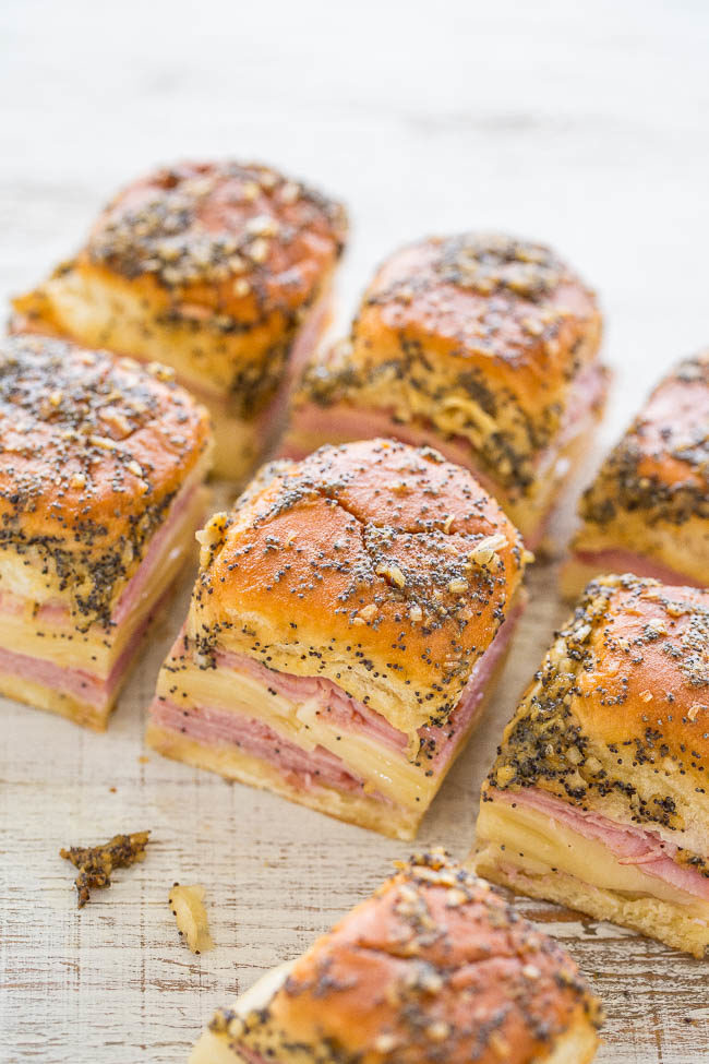 For the ham and cheese bread menu